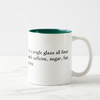 Quoted coffee mug
