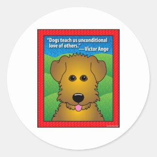 QuoteDog3 Sticker