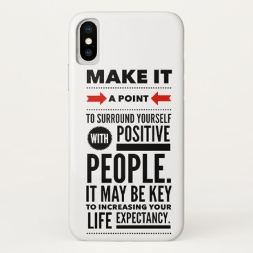 quotes about life iPhone XS case
