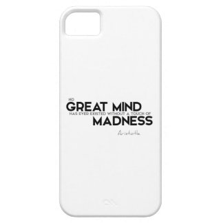 QUOTES: Aristotle: Great Mind iPhone SE/5/5s Case