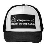 quotes-black trucker hat