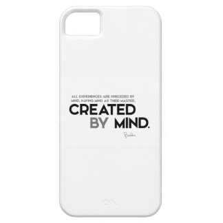 QUOTES: Buddha: Created by mind iPhone SE/5/5s Case