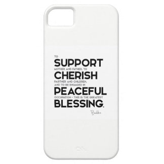 QUOTES: Buddha: Greatest blessing iPhone SE/5/5s Case