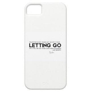 QUOTES: Buddha: Letting go iPhone SE/5/5s Case