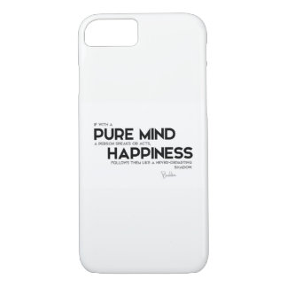 QUOTES: Buddha: Pure mind iPhone 7 Case
