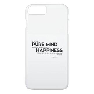 QUOTES: Buddha: Pure mind iPhone 7 Plus Case