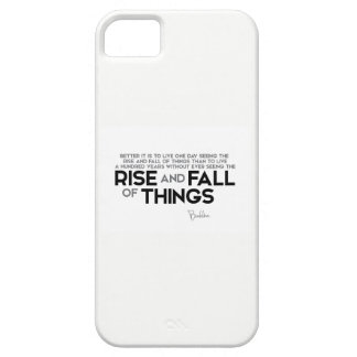 QUOTES: Buddha: Rise and fall of things iPhone SE/5/5s Case