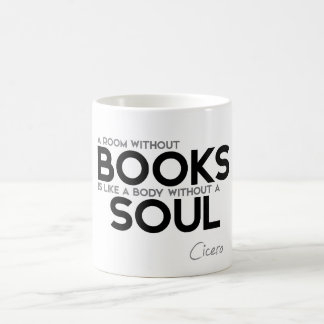 QUOTES: Cicero: A room without books Coffee Mug