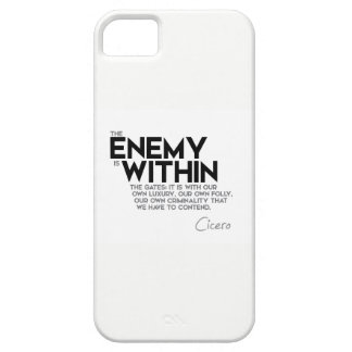 QUOTES: Cicero: Enemy within the gates iPhone SE/5/5s Case