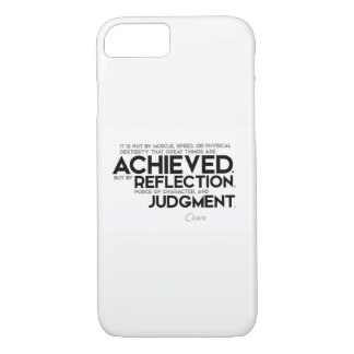 QUOTES: Cicero: Force of character iPhone 8/7 Case