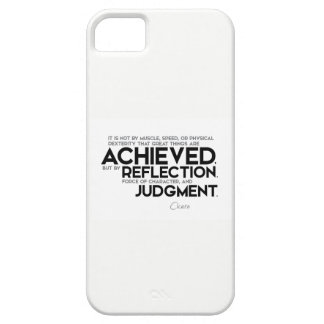 QUOTES: Cicero: Force of character iPhone SE/5/5s Case