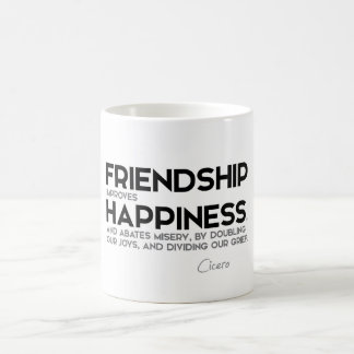 QUOTES: Cicero - Friendship Coffee Mug