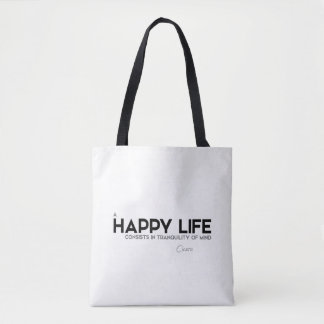 QUOTES: Cicero: Tranquility of mind Tote Bag