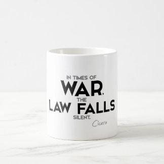 QUOTES: Cicero - War, Law Coffee Mug