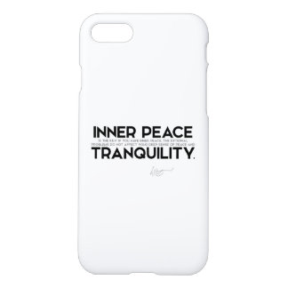 QUOTES: Dalai Lama - Inner Peace iPhone 7 Case