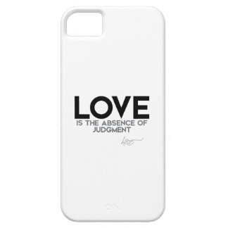QUOTES: Dalai Lama - Love, judgment iPhone SE/5/5s Case