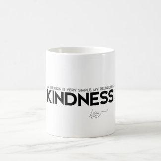 QUOTES: Dalai Lama: My religion is kindness Coffee Mug