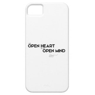 QUOTES: Dalai Lama - Open heart, Open mind iPhone SE/5/5s Case