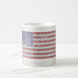 Quotes Flag for A Free and Open Internet Coffee Mug