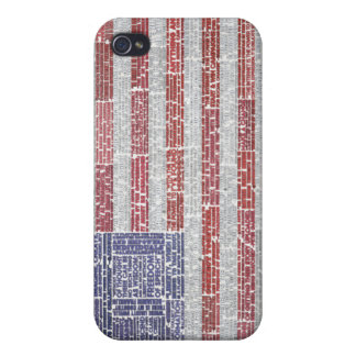 Quotes Flag for A Free and Open Internet iPhone 4 Cases