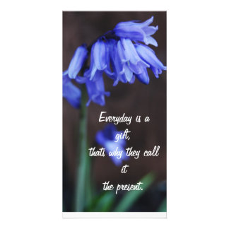 Quotes - flowers card