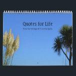 "Quotes for Life Calendar Option B<br><div class=""desc"">Inspirational quotes by T. Austin-Sparks.</div>"