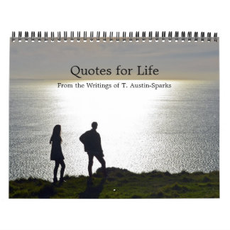 Quotes for Life Calendar Option C