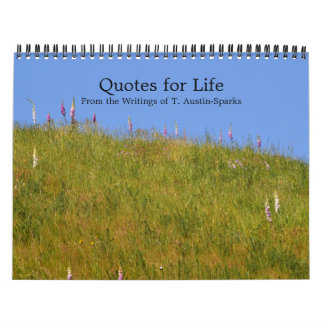 Quotes for Life Calendar Option D