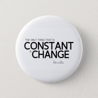 QUOTES: Heraclitus: Change is constant Button