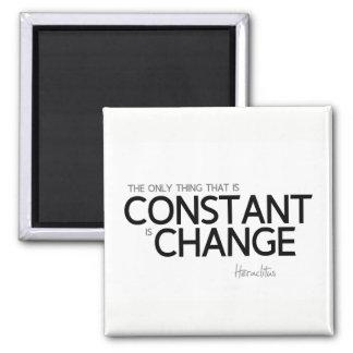 QUOTES: Heraclitus: Change is constant Magnet