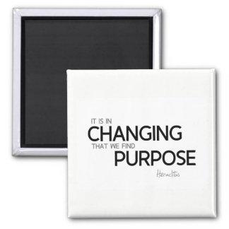 QUOTES: Heraclitus: Find purpose Magnet