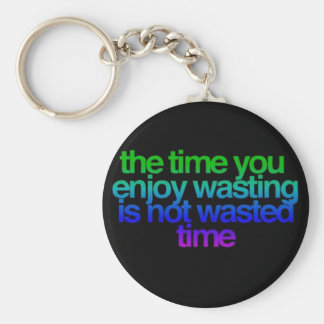 quotes key chain