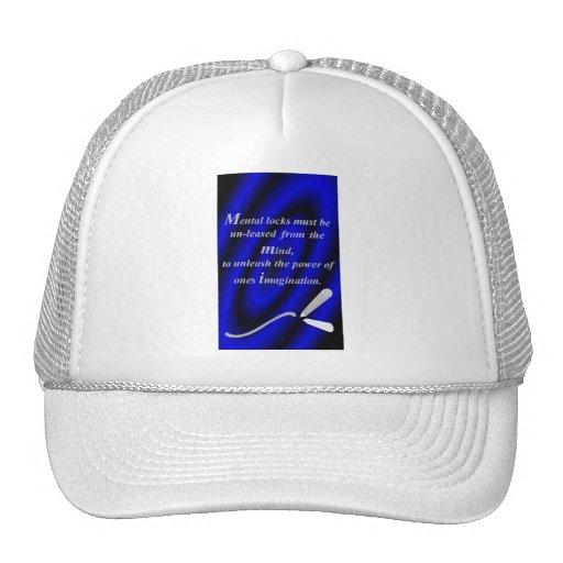 """QUOTES ~N~ MOTION"" 4 GEAR WEAR by CARA G. RHODES Trucker Hat"