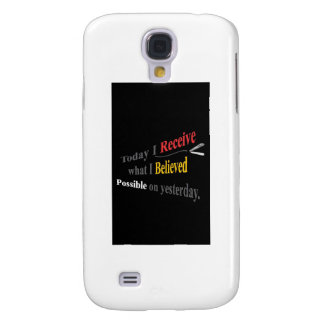 """""""QUOTES ~N~ MOTION"""" GEAR WEAR 36 by CARA G. RHODES Galaxy S4 Cover"""
