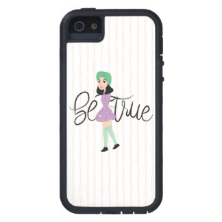 Quotes on Art: Be True iPhone 5 Covers