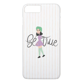 Quotes on Art: Be True iPhone 8 Plus/7 Plus Case