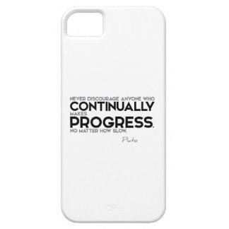 QUOTES: Plato: Continually Progress iPhone SE/5/5s Case