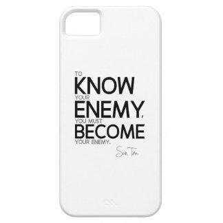QUOTES: Sun Tzu: Know your Enemy iPhone SE/5/5s Case