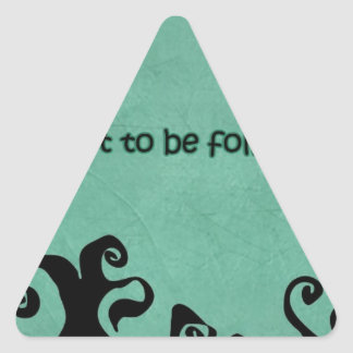 quotes that inspire triangle sticker
