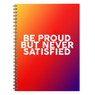 Quotes to motivate and inspire wisdom spiral note book