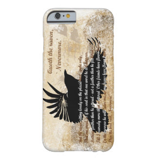 Quoth del cuervo el iPhone 6 de Edgar Allan Poe