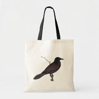 Quoth el cuervo bolsa tela barata