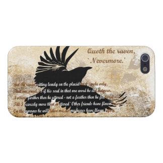 Quoth el cuervo nunca más Edgar Allan Poe iphone5 iPhone 5 Protector