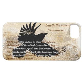 Quoth el cuervo nunca más Edgar Allan Poe iphone5 Funda Para iPhone SE/5/5s