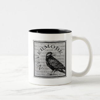 Quoth el cuervo taza de dos tonos