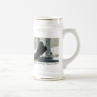 Quoth The Raven Beer Stein
