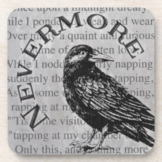 Quoth the Raven Beverage Coaster