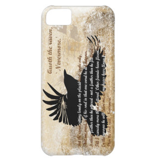 Quoth the Raven Nevermore Edgar Allan Poe iphone5 Case For iPhone 5C