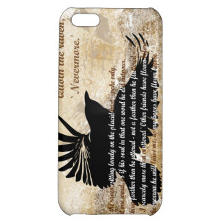 Quoth the Raven Nevermore Edgar Allan Poe iphone5 iPhone 5C Case