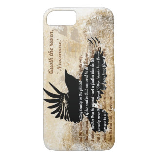 Quoth the Raven Nevermore Edgar Allan Poe iPhone 7 iPhone 8/7 Case